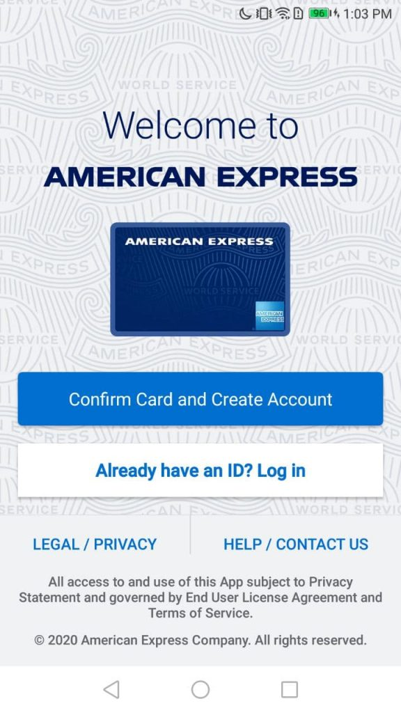 Amex Welcome