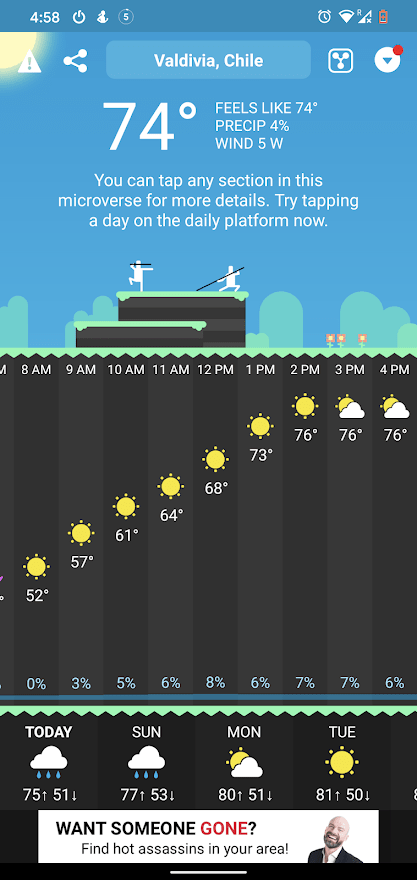 CARROT Weather Forecast