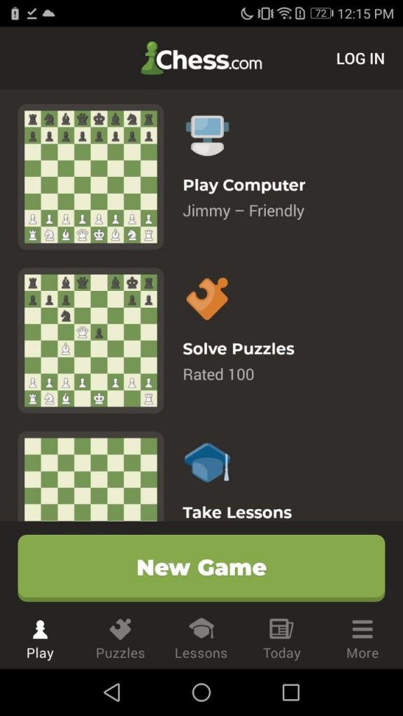 Chess Play and Learn Home