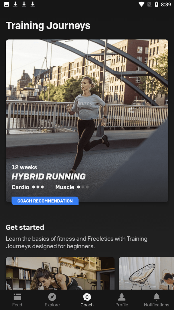 Freeletics Training Journeys