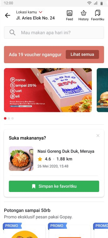 Gofood Browse