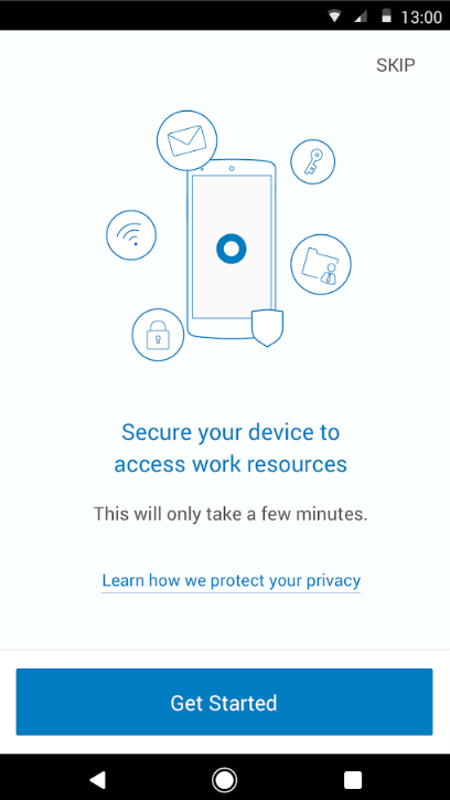 Okta Mobile Secure Your Device