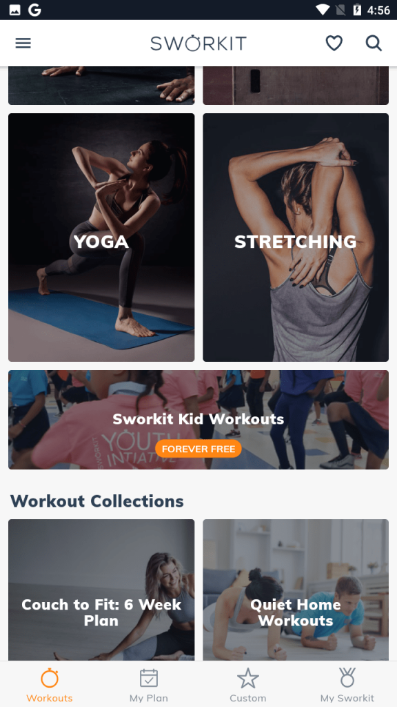 Sworkit Workouts