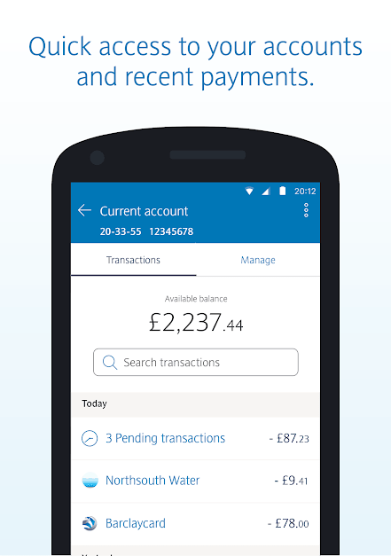 Barclays Account
