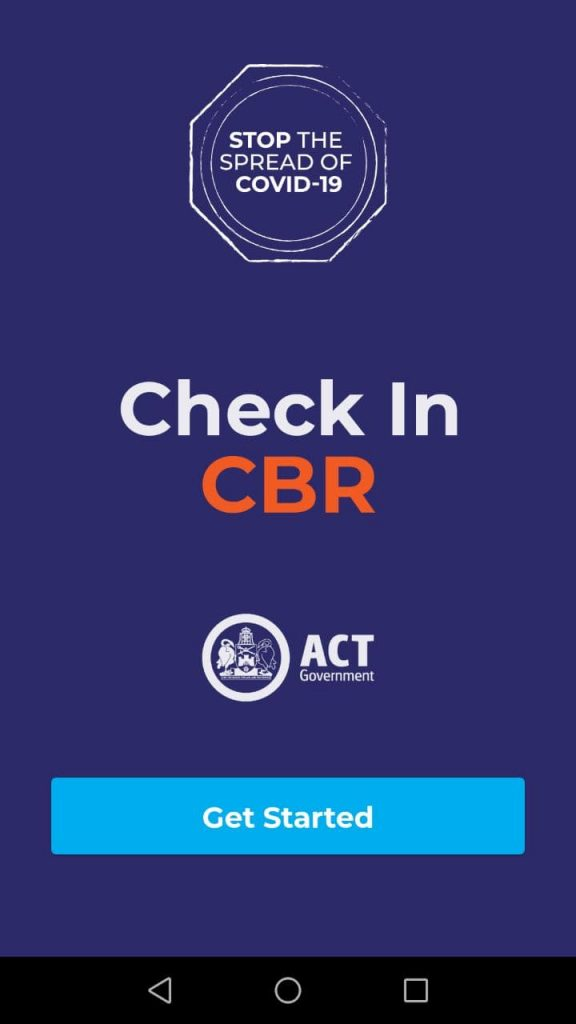 Check In CBR Get Started