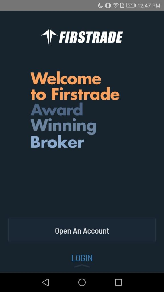 Firstrade Open Account