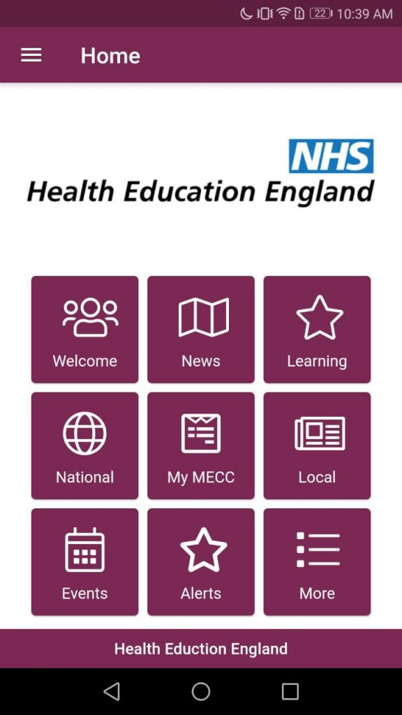 HealthZone UK Interface