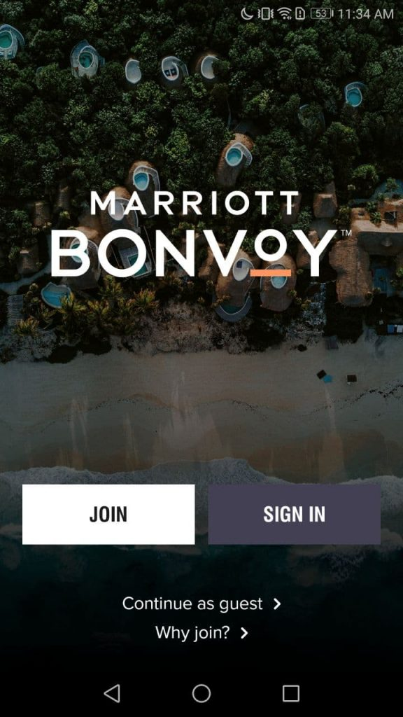 Marriott Bonvoy Join