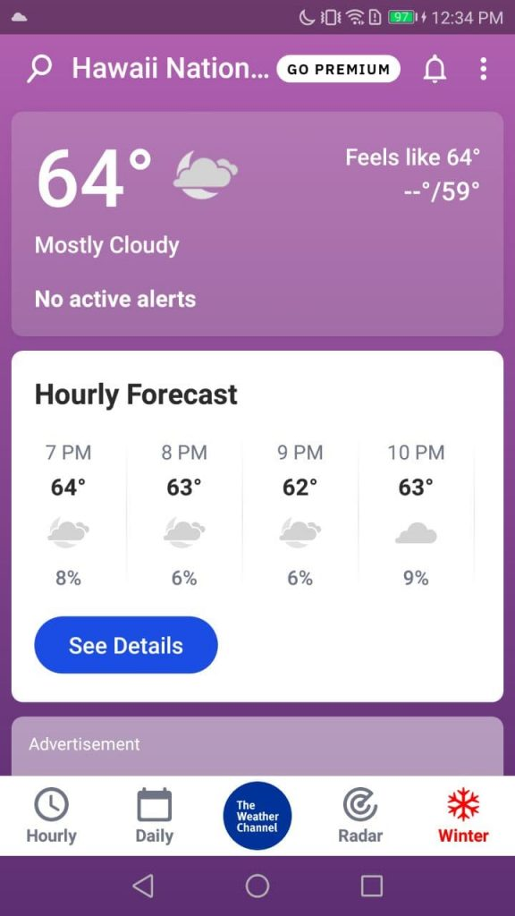 Weather Channel Home