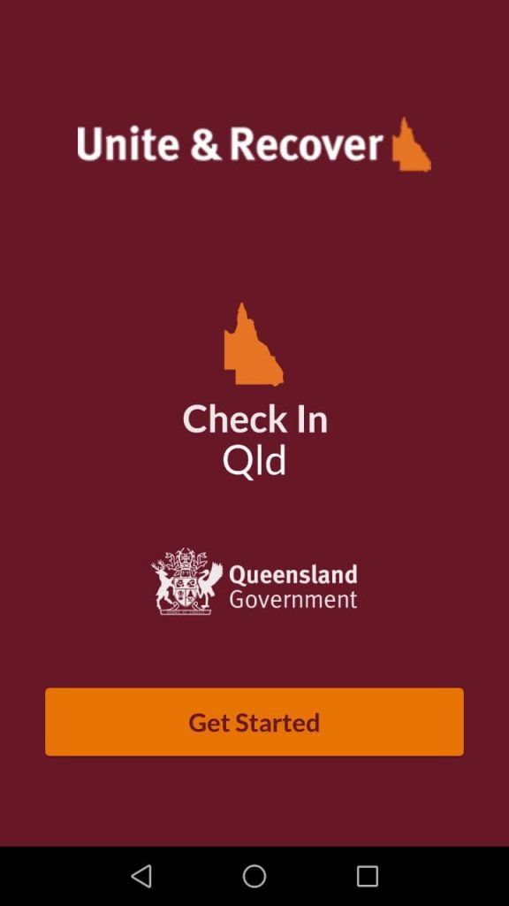 Check In Qld Get Started